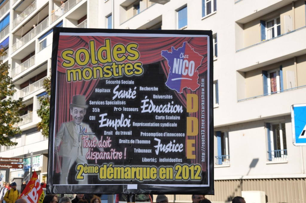 Grenoble. Soldes monstres