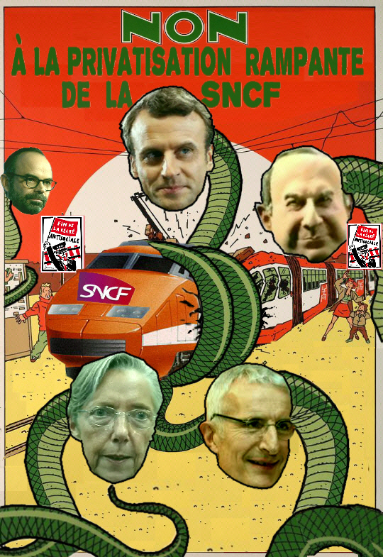 non à la privatisation rampante de la SNCF