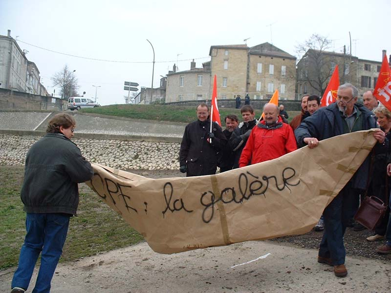 Galère CPE