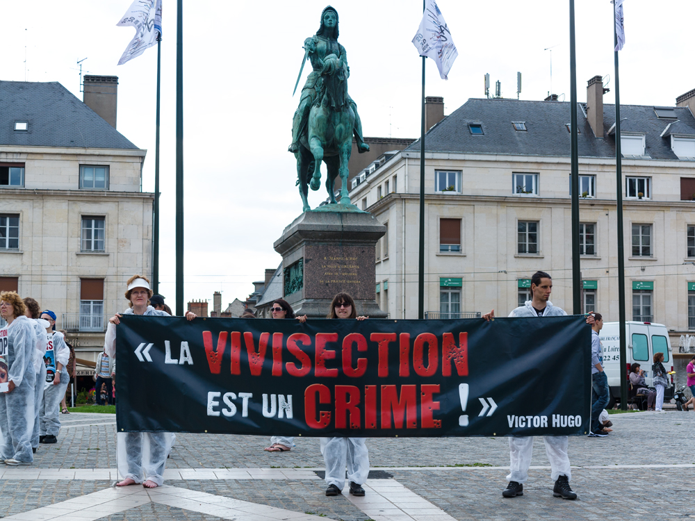 La vivisection est un crime (Victor Hugo)
