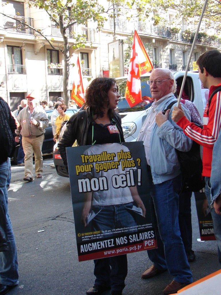manif PCF