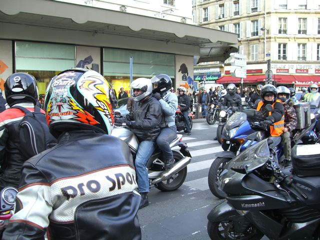 Paris 23/02/07 Motards en colère