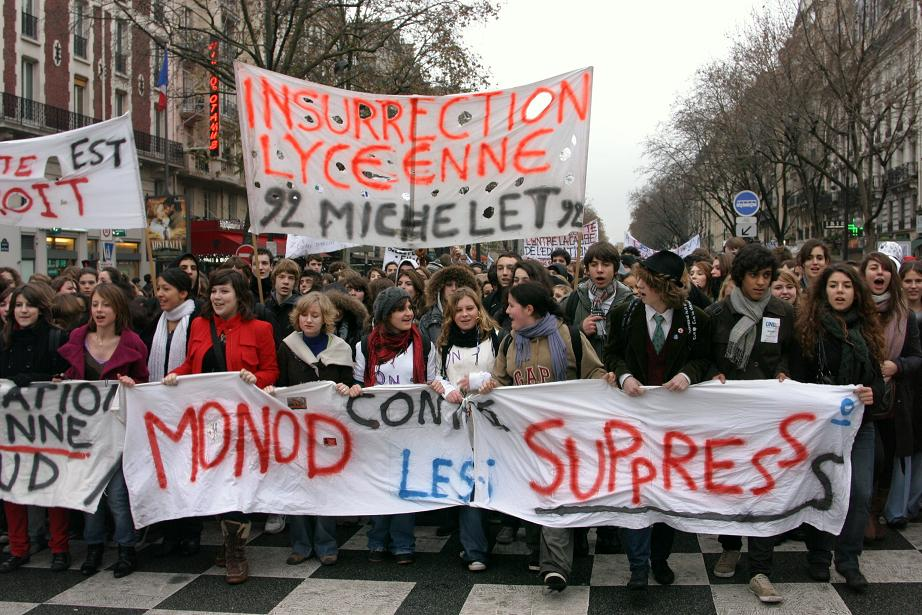 Monod contre les suppressions