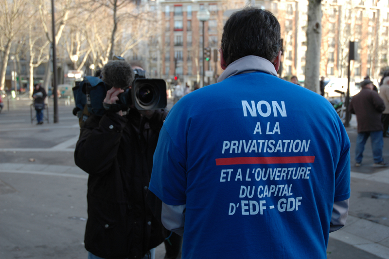 non à la privatisation