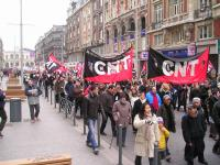 03 syndicat CNT lille manif 35 heures