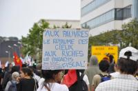 Manif antiG8 le Havre 21 mai 2011, citation Yves Cusset