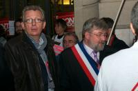 Pierre Laurent et Dominique Adenot