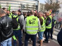 Rouen cheminots 14 avril 2018