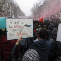 Manif à Paris
