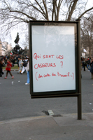 Manifestation contre le CPE - Paris