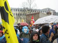 manifestation contre l'EPR à Cherbourg