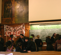 La Sorbonne (Paris1) occup�e