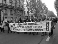 Manif élus Finances locales Paris 18 11 06