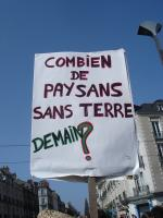 Manifestation contre l'Ayrault port ND des Landes