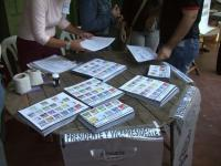 Asuncion Les bulletins de vote