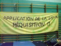 Application de la loi de réquisition