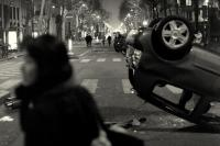 Violences fin de manif Paris